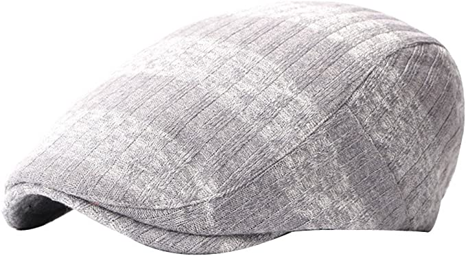 YueLian Mens Newsboy Cap Warm Cabbie Hat