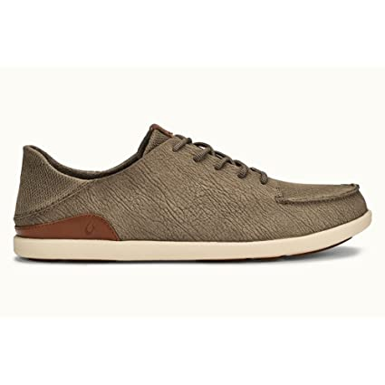 Olukai Manoa Leather - Hombres Clay / Toffee 13 Xm5wDfr8j
