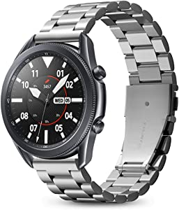 Spigen Modern Fit Designed For Samsung Galaxy Watch 3 45mm Band Strap (2020) / Galaxy Watch 46mm Band (2018) / Gear S3 Frontier Band / S3 Classic Band Strap - Silver