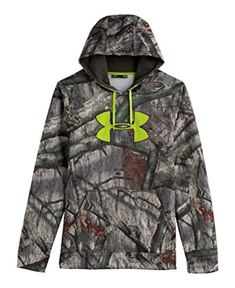 Under Armour Coldgear Scent Control Hoody - Men's Mossy Oak Treesland / Velocity Large by Under Armour