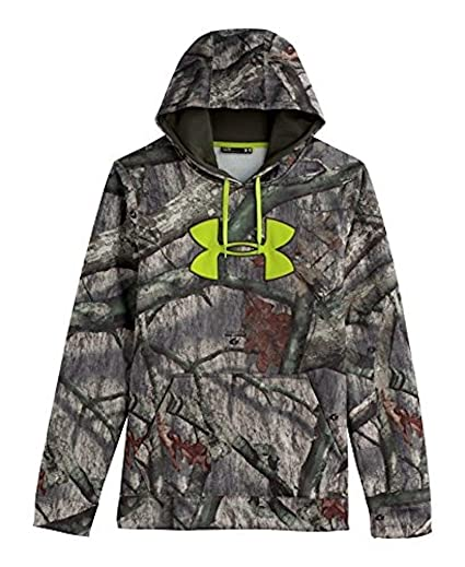 633c482e4d3 Under Armour Coldgear Scent Control Hoody - Men s Mossy Oak Treesland    Velocity Small
