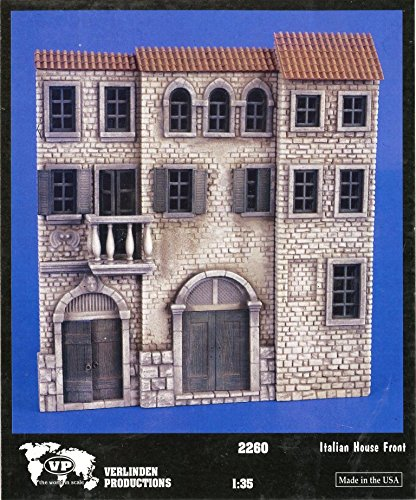 Verlinden 1:35 Italian House Front Plaster Diorama Accessory #2260