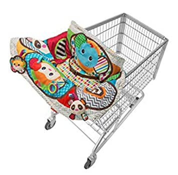 Amazon.com : Infantino Unisex Baby Play and Away Jungle Style Cart Cover (204-115) Brand New : Baby