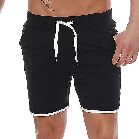 ARISKAA cortos de playa Pantalones Cortos de natación para Hombre ...