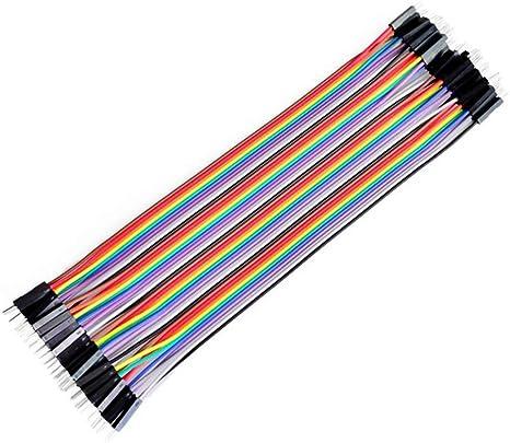 compatible Arduino 20 ou 40-10//20cm Câbles Dupont par 10 MM // MF // FF