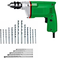 SMB TOOLS ELECTRIC DRILL MACHINE 10MM +13 PCS HEAVY DUTY FOR HOME USE AND DRILLING WALL