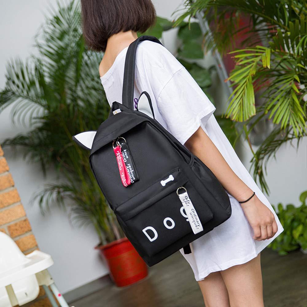 Prevently Bag Bolsa de Hombro, Bolsa de Hombro Encantadora de Lona, para Estudiantes, para la Escuela
