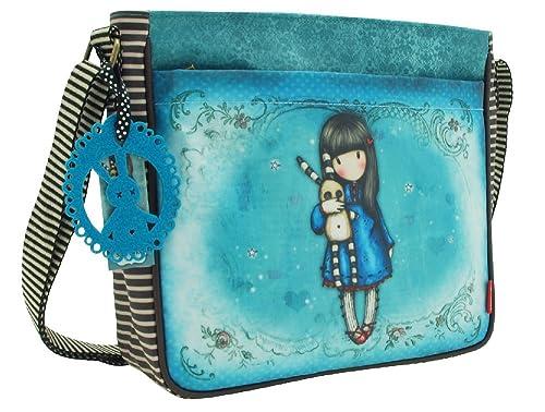 426ebb427f Gorjuss Hush Borsa Santoro con tracolla regolabile 30 x 25 x 8 cm:  Amazon.it: Scarpe e borse