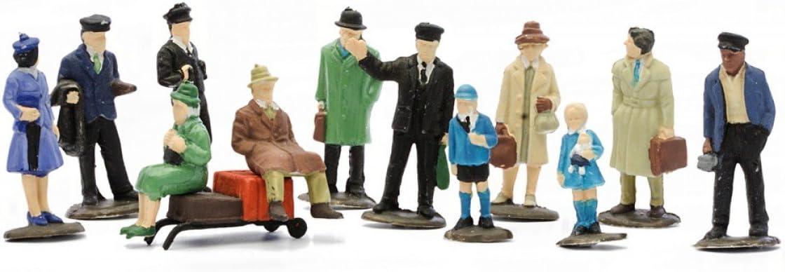 Model Train Sheep /& Sheep Dog Figures x 6 Assorted  HO//OO  Scale
