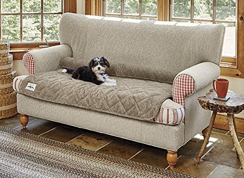 Orvis Improved Furniture Protector/Only Sofa Protector, Brown Tweed
