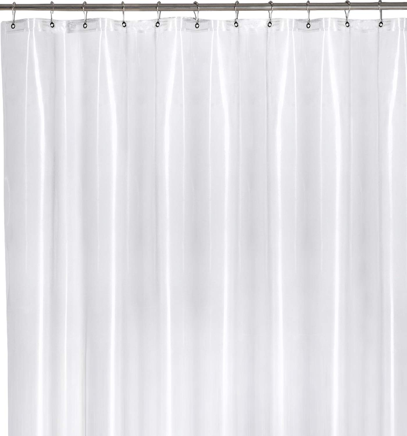 Amazon Utopia Bedding 10 Guage Heavy Duty Clear Shower Curtain Liner Mildew Resistant 72 By Inches