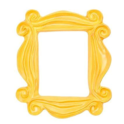Amazoncom Mcasting Handmade Yellow Peephole Frame As Seen On
