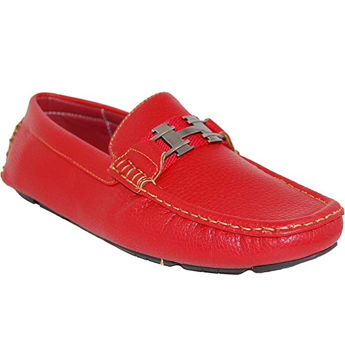 Amazon.com | Shoe Artists Red Rod Slip On Mens Loafer | Loafers & Slip-Ons