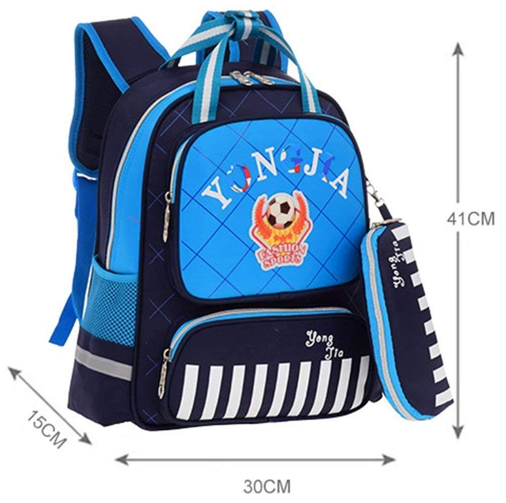 Pureed Pureed Pureed Kinder Felice Kindergarten Unisex Karikatur Kinder Mini Schulrucksack Babyrucksack Backpack Schultasche Aussehen 2-7 Tier Jahre Dchen Männer Jungen (Farbe   Royal Blau, Größe   One Größe) 9fbef8