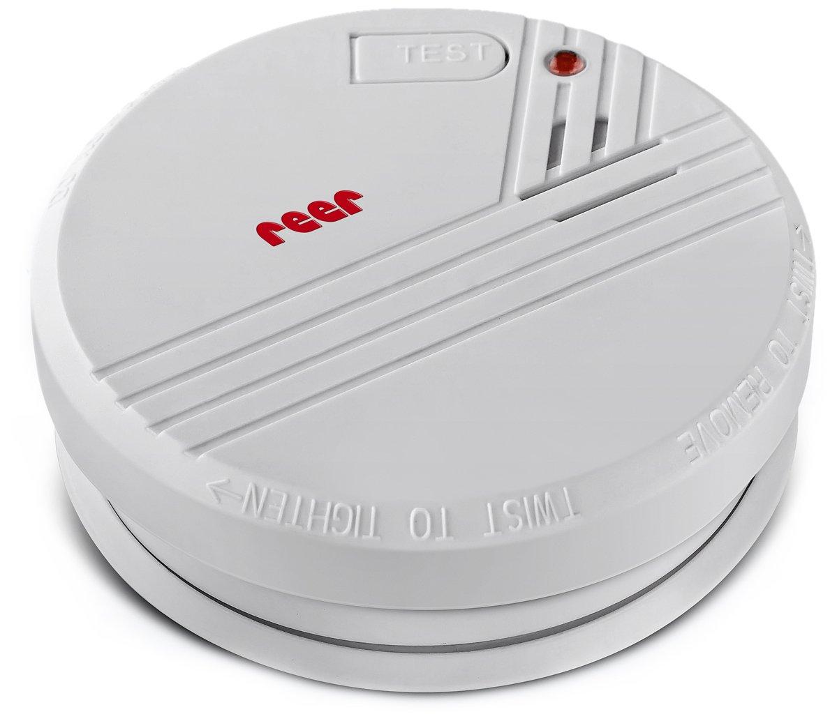 incluye pilas de 9 V Reer Detector de humos