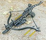 Isaazon 80lbs Pistol Self Cocking Crossbow 3 Arrows