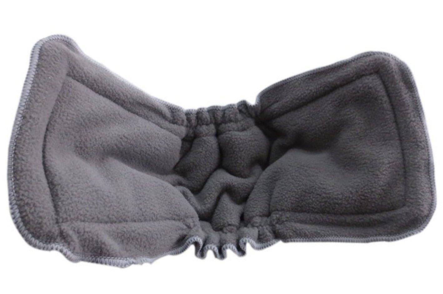 Stoffwindeln in verschiedenen Farben 5er Pack Wiederverwendbare Windeln Pentaton Windeleinlage aus Bambus Baumwolle 5 Lagen
