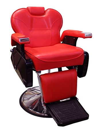 TMS All Purpose Hydraulic Recline Barber Chair Salon Shampoo Beauty Spa  Equipment