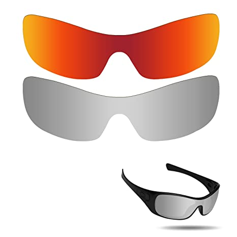 285e60e7dbc Image Unavailable. Image not available for. Color  Fiskr Anti-Saltwater  Polarized Replacement Lenses for Oakley Antix Sunglasses ...