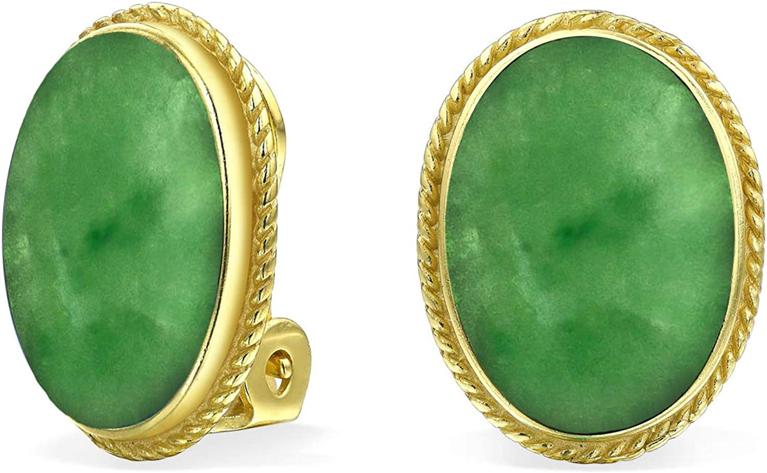 Pale Green Small Minimalist Clip On Earrings Round Cabochon Earrings Summer Jewelry Gift for her Kids Jewelry Gift Idea