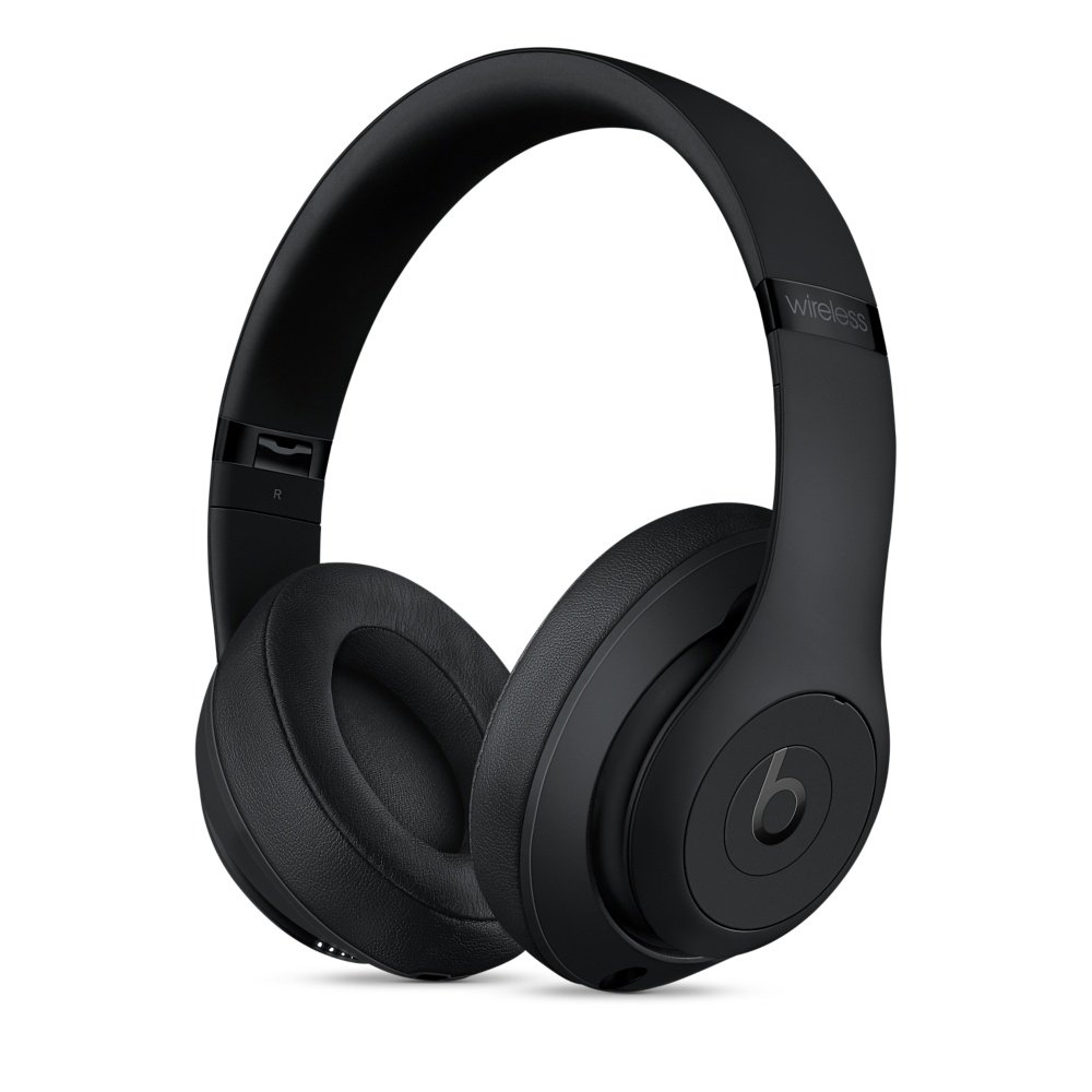 Beats Studio3 Cuffie Over-Ear Wireless - Matte Nero