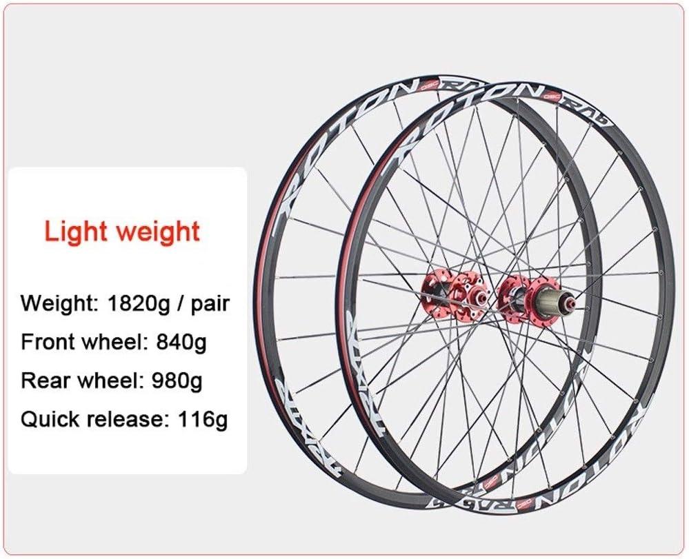 """26 /""""paire de frein à disque roues vélo libération rapide 7 vitesse roue libre pneus /& tube"""