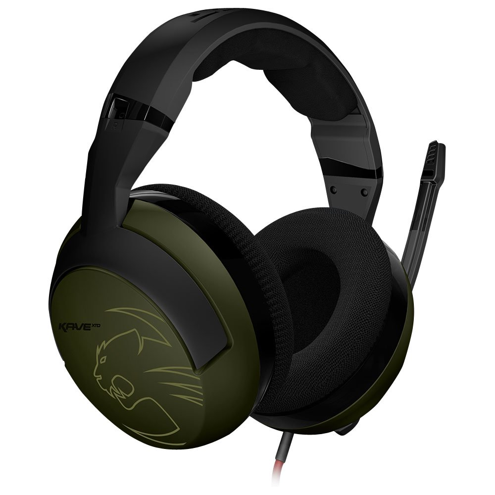 ROCCAT KAVE XTD Stereo Military Edition Premium Gaming Headset, Camo Charge