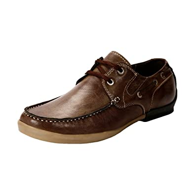 Bacca Bucci Men Bbmb3091C Brown Sneakers - 10