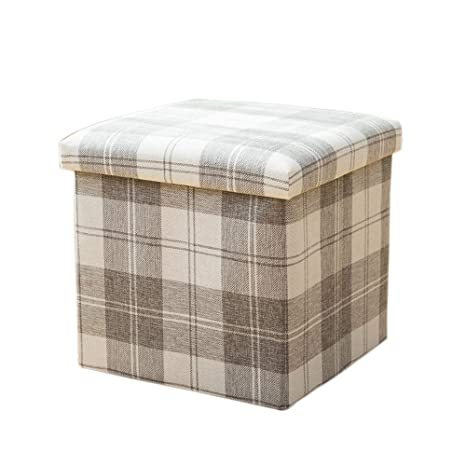 Amazing Amazon Com Compuclever Folding Storage Ottoman Seat Stool Andrewgaddart Wooden Chair Designs For Living Room Andrewgaddartcom