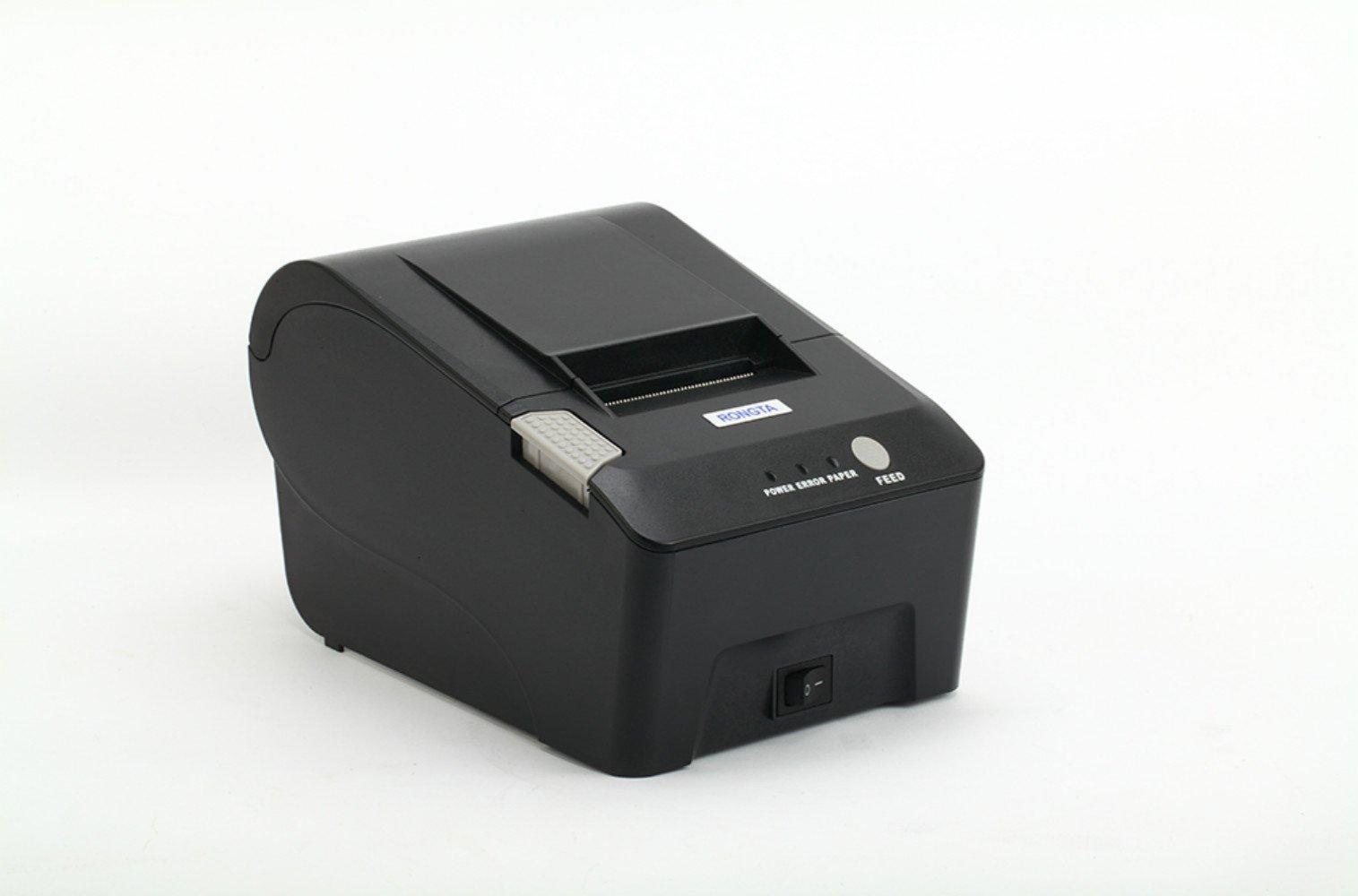 RONGTA RP58S Barcode Printing Label Printers Thermal Line Printer Serial Interface