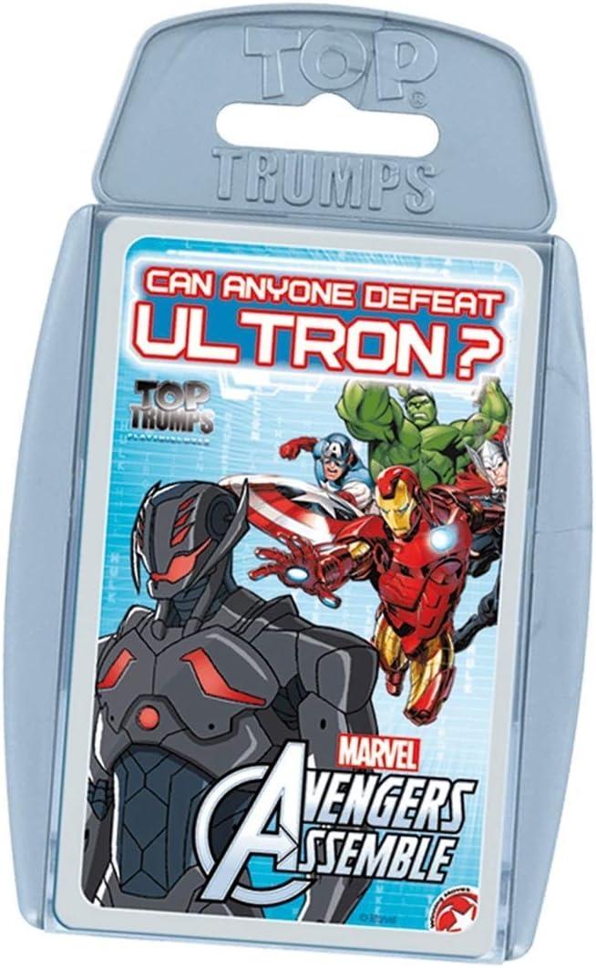 Avengers (Marvel Top Trumps Assemble (81724), Multicolor, Ninguna (Eleven Force 1)