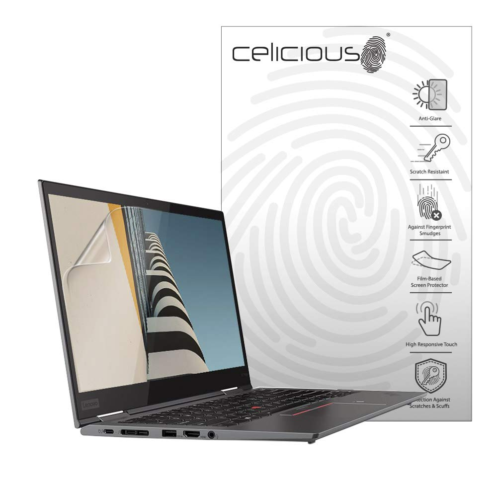 Pack of 2 Celicious Matte Anti-Glare Screen Protector Film Compatible with Lenovo ThinkPad P43s WQHD Non-Touch
