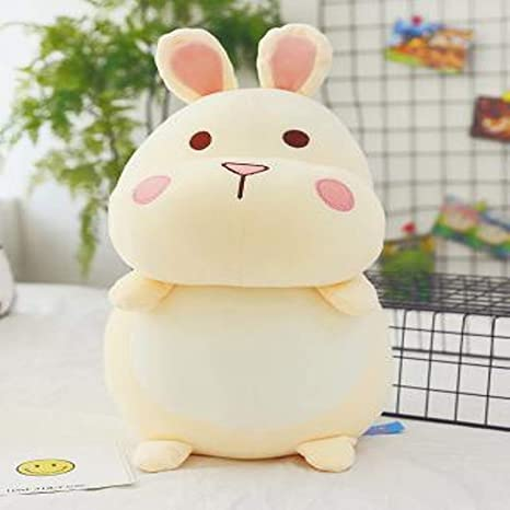 JEWH Lovely Hamster Plush Dolls - Stuffed Toys Simulation Hamster Guinea Pig Large Plush Toys Kids