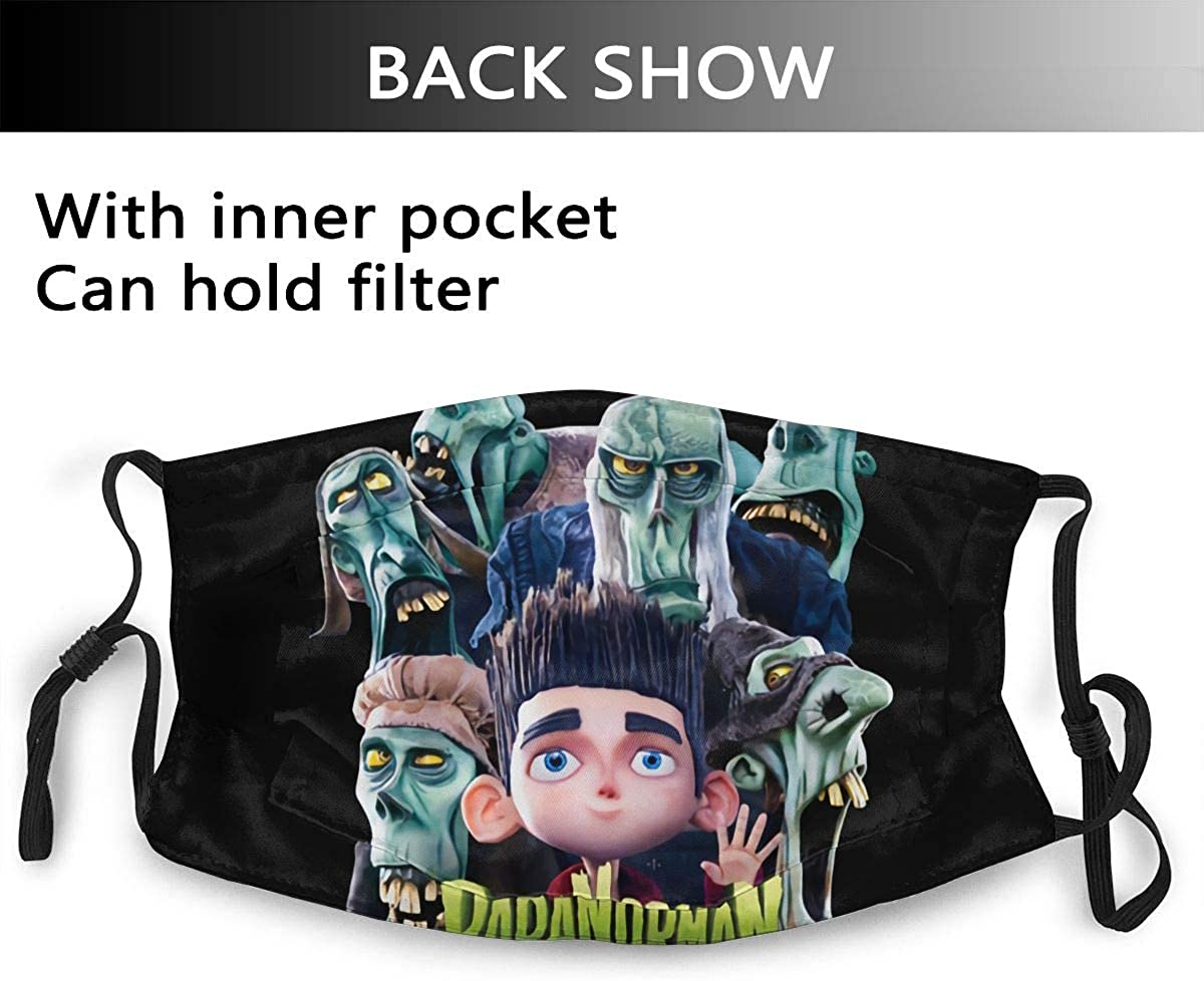 Paranorman Reusable For Men Women Breathable Adult Dust Face Mouth Cloth Balaclava