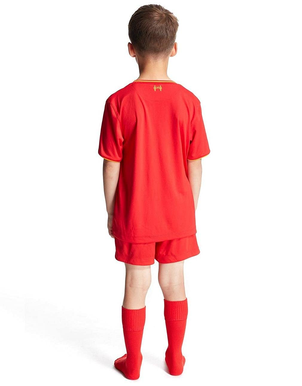 020d84653 New Balance Liverpool FC 2016 17 Home Kit Children  Amazon.co.uk  Clothing