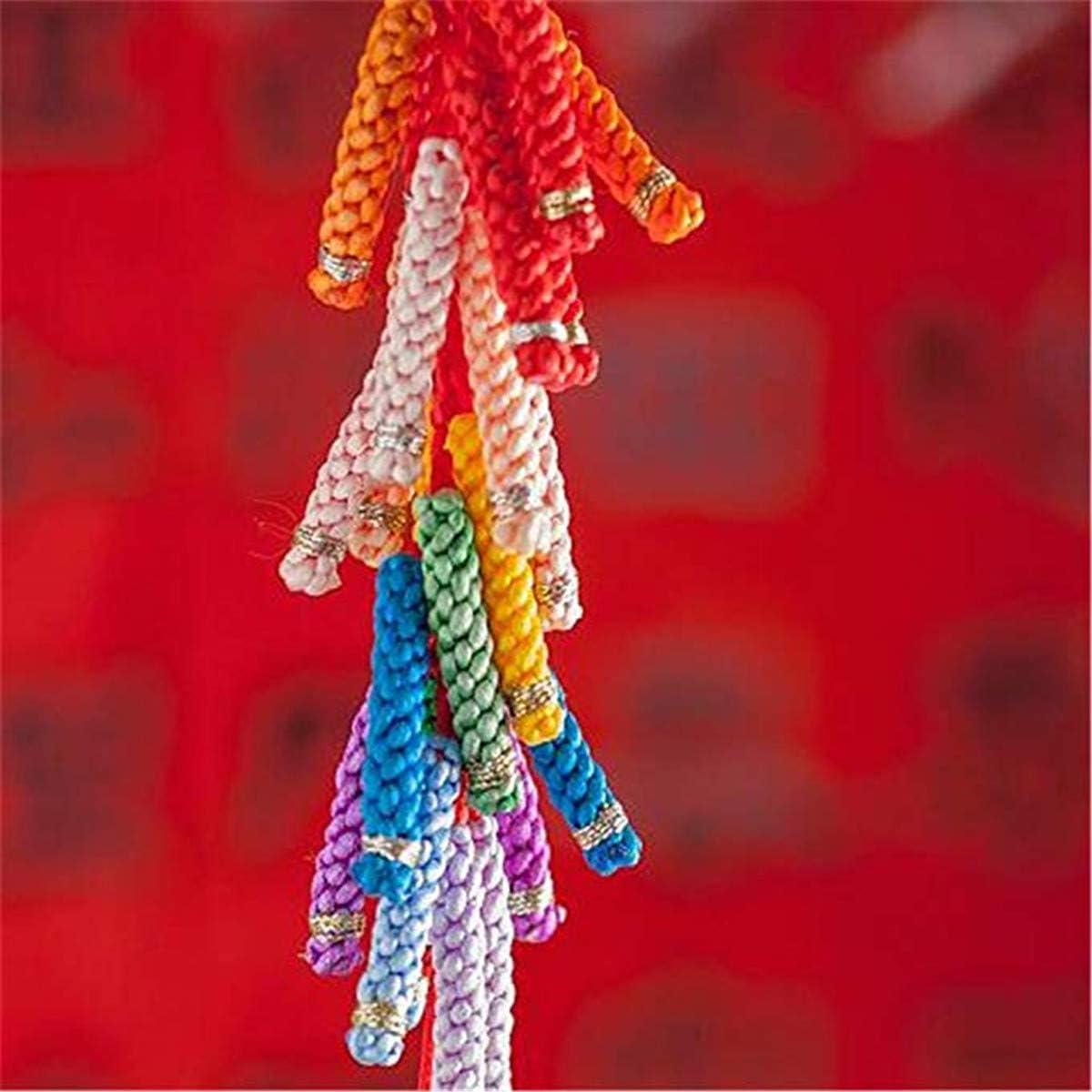 HLLbuy 2.5mm Dia 109Yd Black Satin Cord DIY Rattail Satin Nylon Trim Cord Chinese Knot
