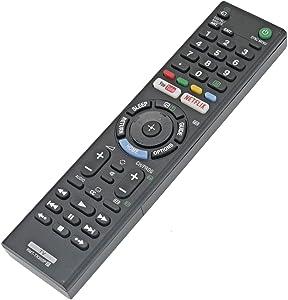 RMT-TX300P Remote Replaced for Sony Smart TV KDL-32W610E KDL-50W660F KD-43X7007F