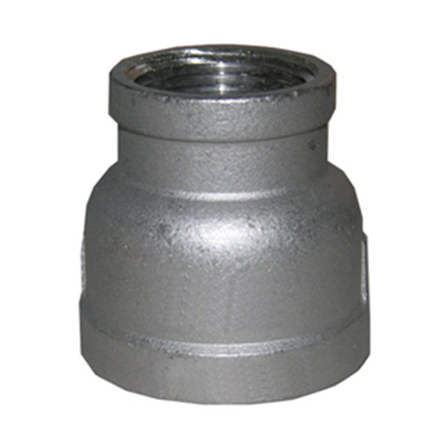 LASCO 32-2842 Stainless Steel Bell Reducer with 1 1/2-Inch Female Pipe Thread and 1-Inch Female Pipe Thread