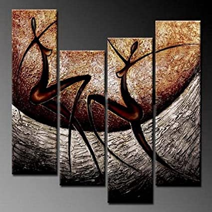 Amazon.com: Phoenix Decor PC018 Elegant Modern Canvas Art for Wall ...