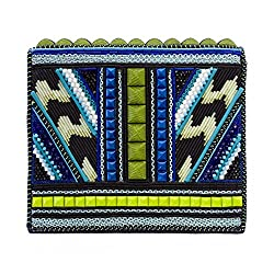 Studded & Beaded Weevil Clutch Bag