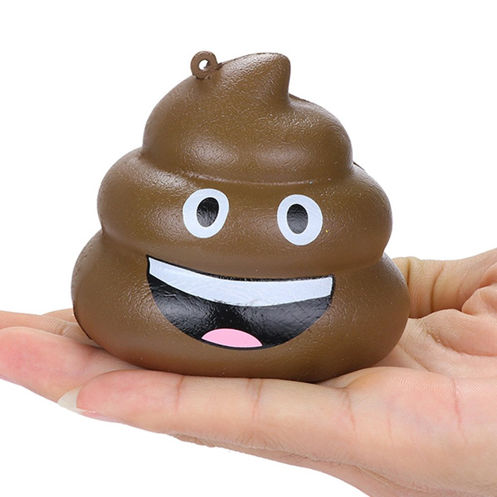 Ulanda Exquisite Fun Crazy Poo Scented Squishy Charm Slow Rising Squeeze Toys Stress Reliever Anxiety Toys