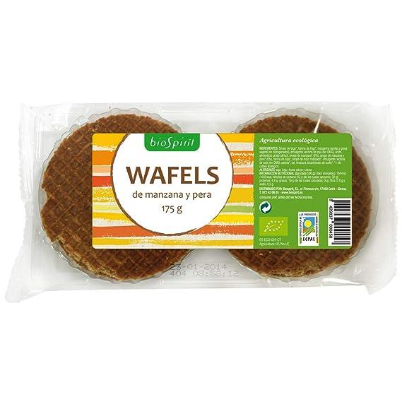 Biospirit Wafels de Manzana y Pera Bio -175 gr