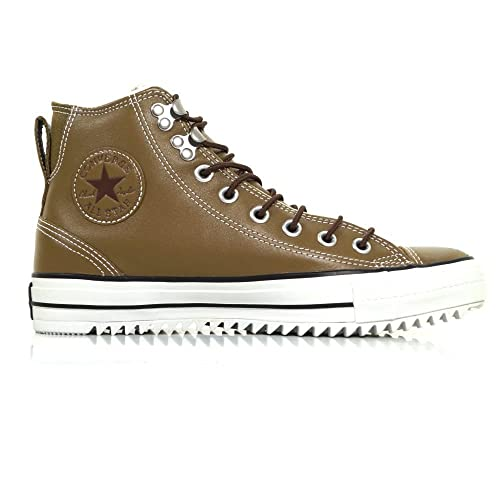 converse all star marrone pelle