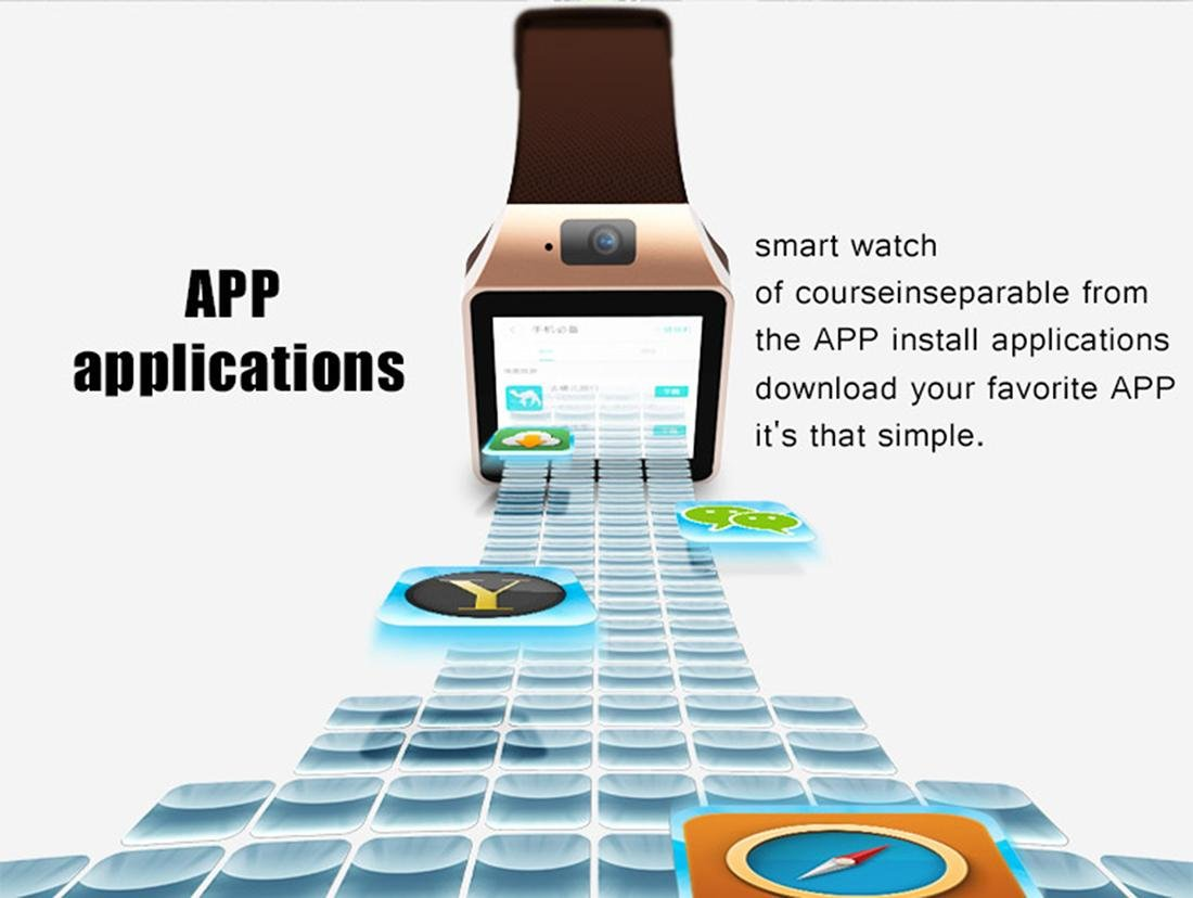 XHL Art Smart Watch Pulsera Inteligente 512MB / 4GB Bluetooth 4.0 ...