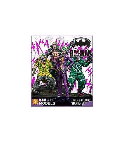 Amazon.com: Batman Miniatures Game - Joker 35mm Joker and ...