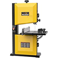 Woodskil 3A 9-Inch Band Saw,2500FPM & 1720RPM Low Noise Induction Motor Bandsaw Anti-Shake with Steel Base and Cast…
