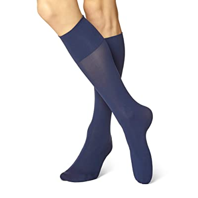 No Nonsense Women's Feel Good Opaque Compression Trouser Sock at Women's Clothing store
