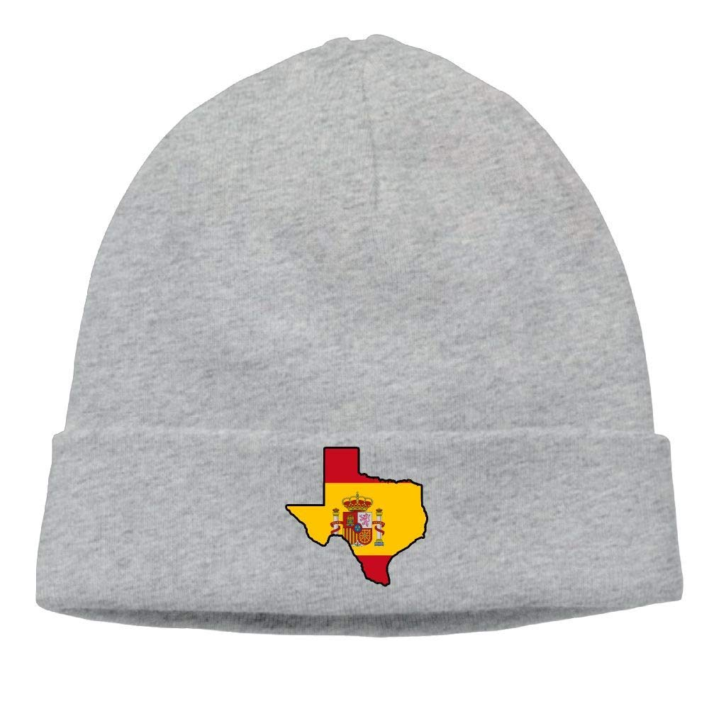 ASKYE Unisex Spain Flag Texas Map Soft Knit Caps: Amazon.es: Ropa ...