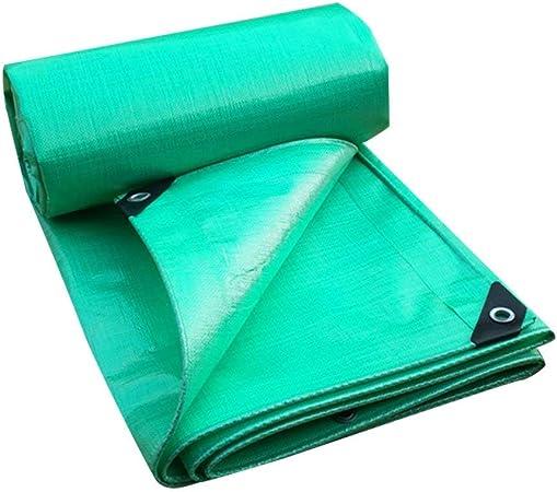 Lona verde Paño para la lluvia Impermeable Protector solar Triciclo Sombrilla Lona Toldo Protector solar Carpa neta Pabellón Adecuado para protección UV Piscina para camiones Jardín Lonas de madera Li: Amazon.es: Hogar