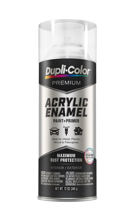 Dupli-Color EPAE11500 Premium Acrylic Enamel Spray Paint (PAE115 Matte Clear 12 oz), 12. Fluid_Ounces
